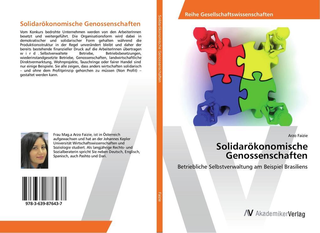 Solidarökonomische Genossenschaften als Buch vo...