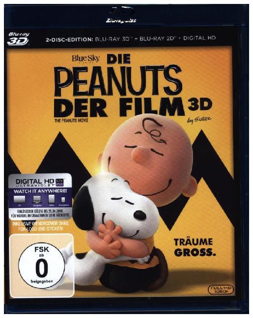 Peanuts - Der Film 3D