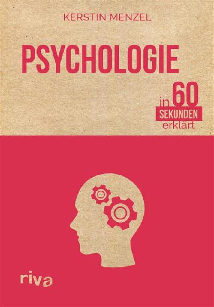 Psychologie in 60 Sekunden erklärt als eBook Do...