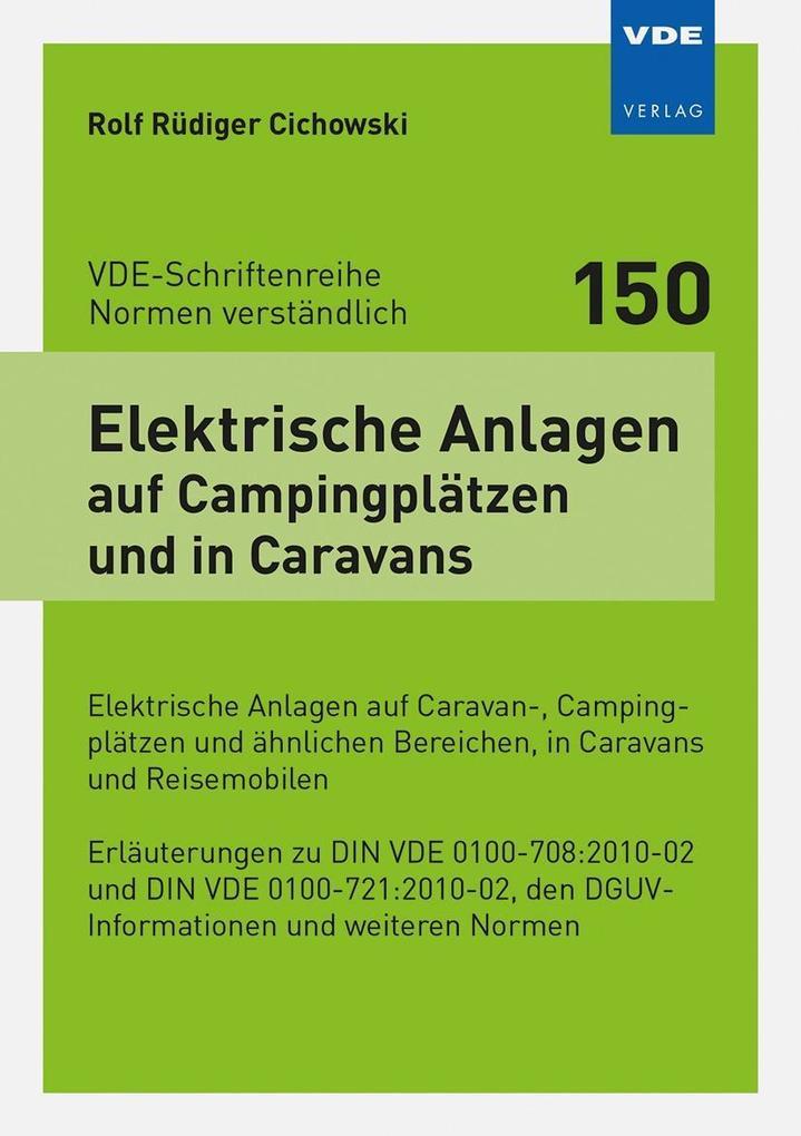 Elektrische Anlagen auf Campingplätzen und in C...