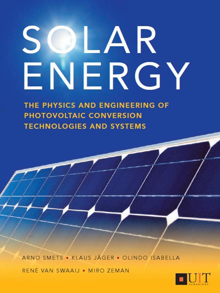 Solar Energy als eBook Download von Arno Smets,...