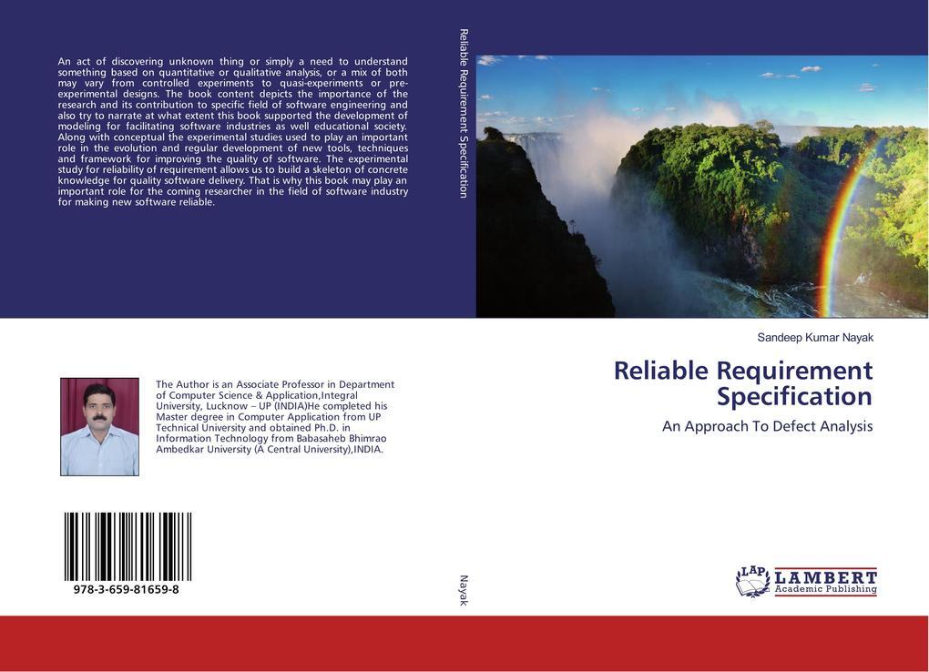 Reliable Requirement Specification als Buch von...