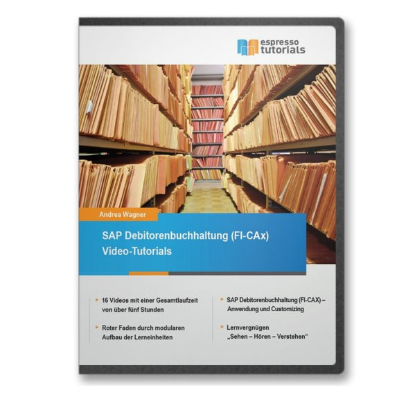 SAP Debitorenbuchhaltung (FI-CAx) Video-Tutorials