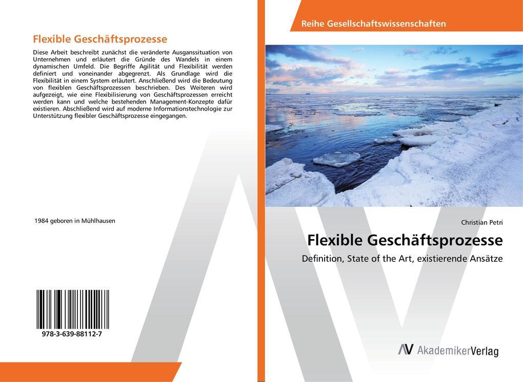 Flexible Geschäftsprozesse als Buch von Christi...