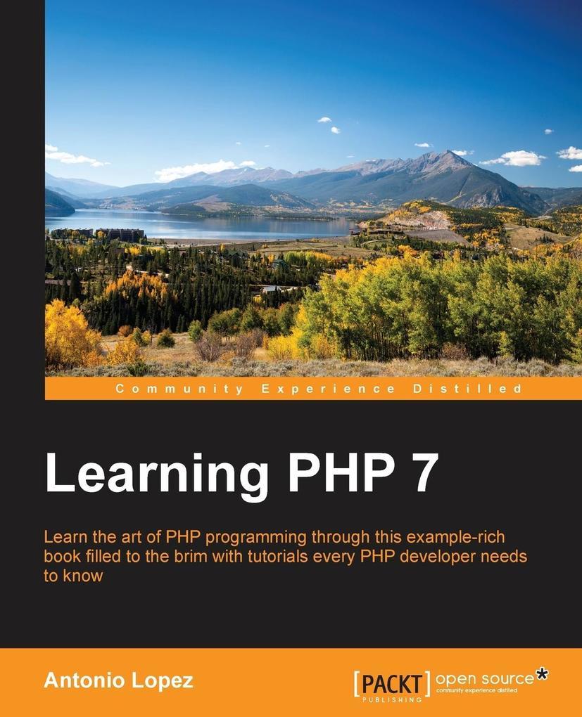 Learning PHP 7 als Taschenbuch von Antonio Lopez