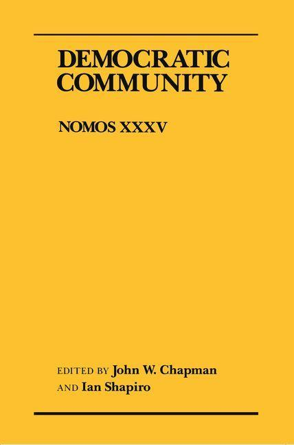 Democratic Community als eBook Download von