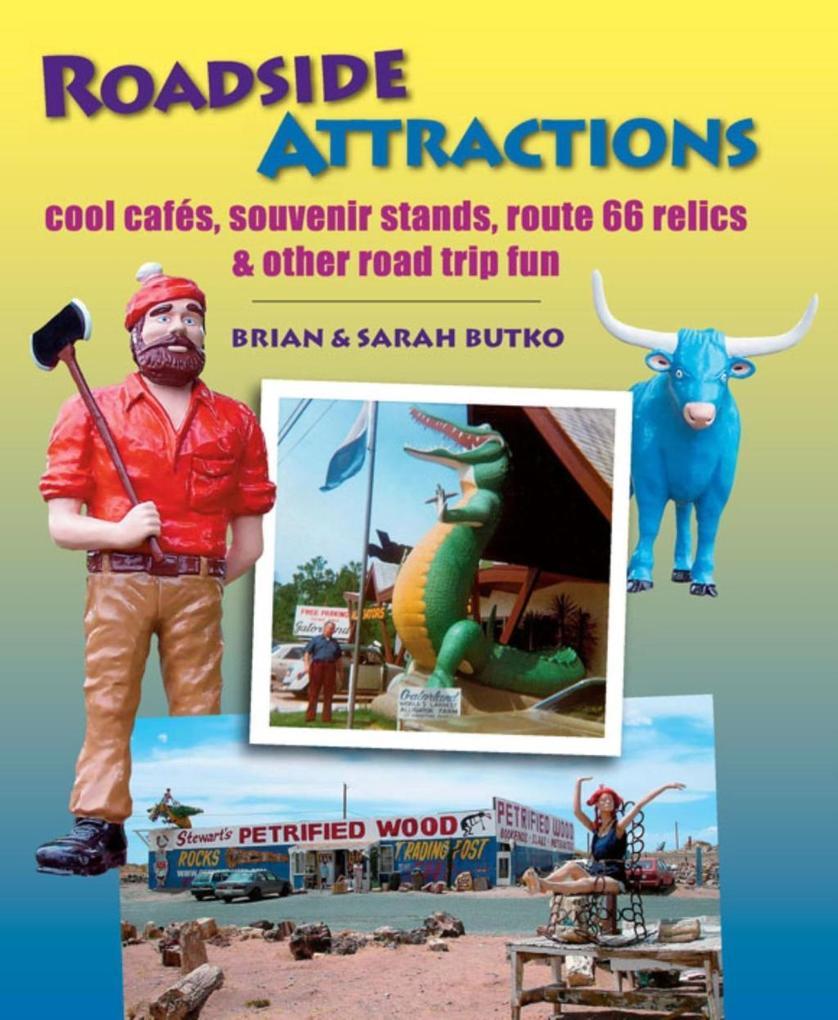Roadside Attractions als eBook Download von Bri...