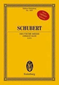 Deutsche Messe als Buch von Franz Schubert