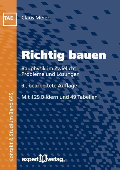 Richtig bauen als Buch von Claus Meier