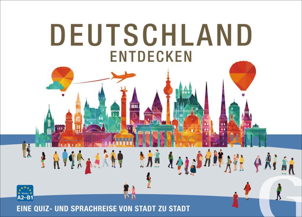 Deutschland entdecken. Sprachspiel