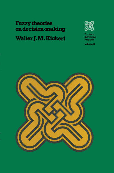 Fuzzy Theories on Decision Making als Buch von ...