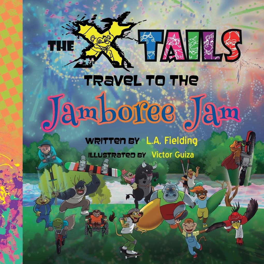 The X-tails Travel to the Jamboree Jam als Tasc...