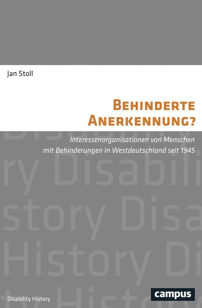 Behinderte Anerkennung? als Buch von Jan Stoll