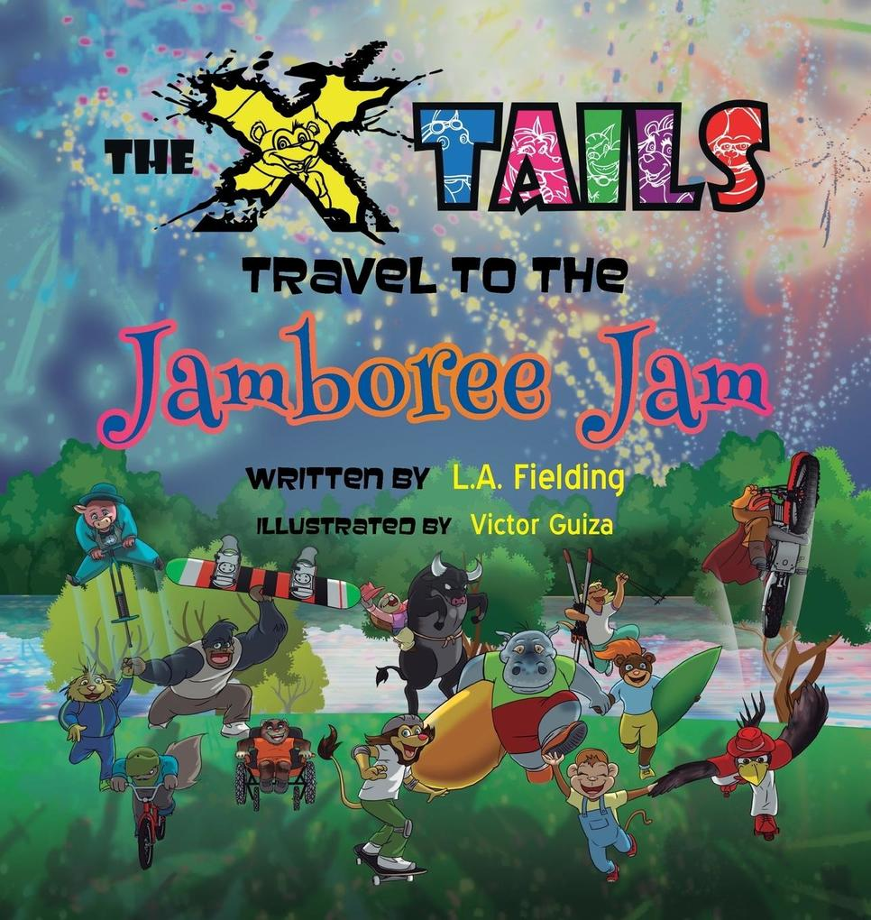The X-tails Travel to the Jamboree Jam als Buch...