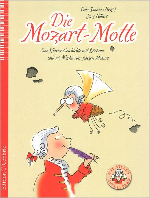 Die Mozart-Motte als Buch von