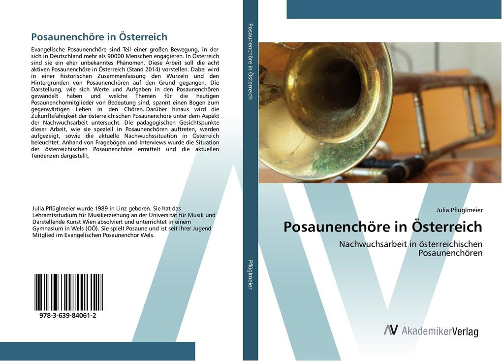 Posaunenchöre in Österreich als Buch von Julia ...