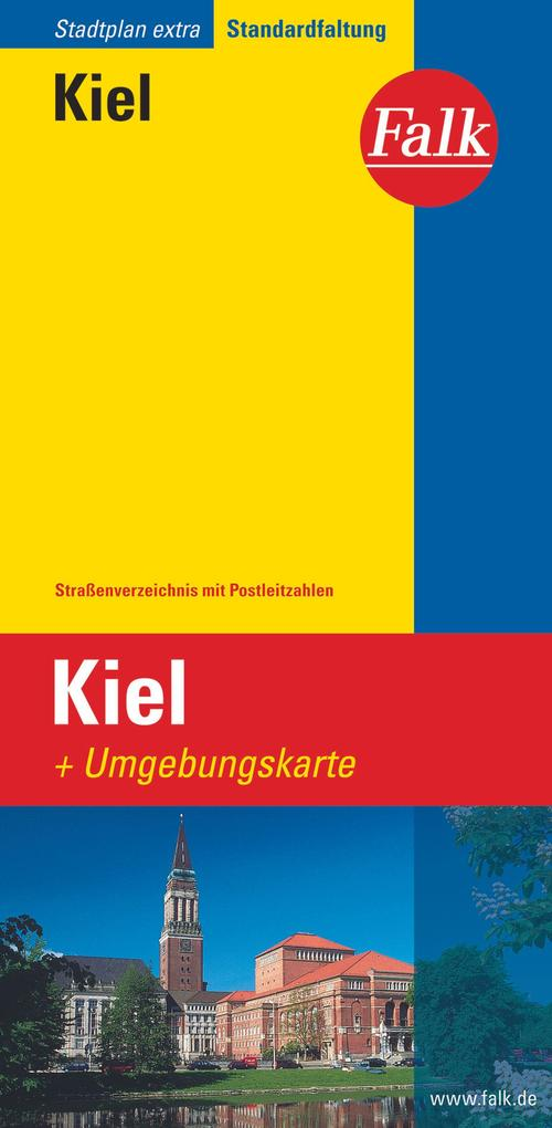 Falk Stadtplan Extra Standardfaltung Kiel 1 : 1...