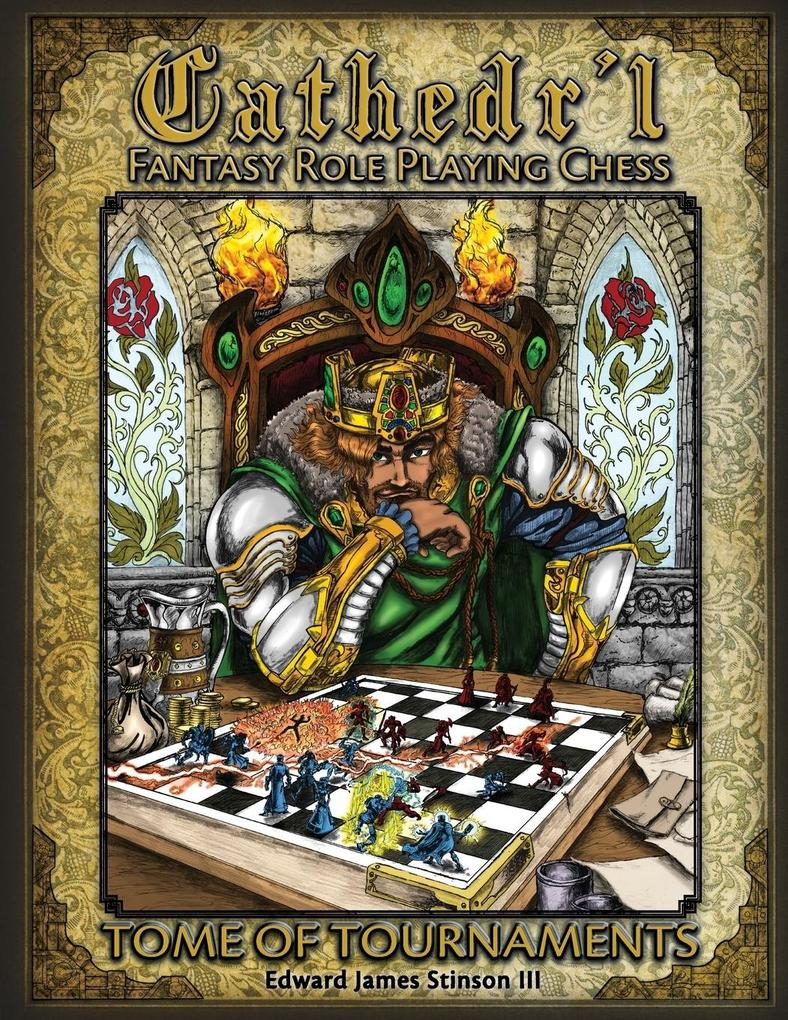 Cathedr´l Fantasy Role Playing Chess als Tasche...