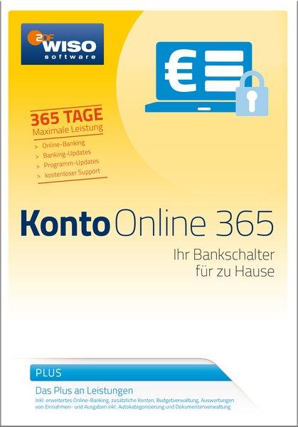 WISO Konto Online Plus 365 2017. Für Windows Vi...