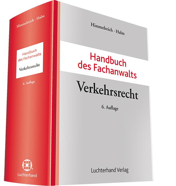 Handbuch des Fachanwalts Verkehrsrecht als Buch...