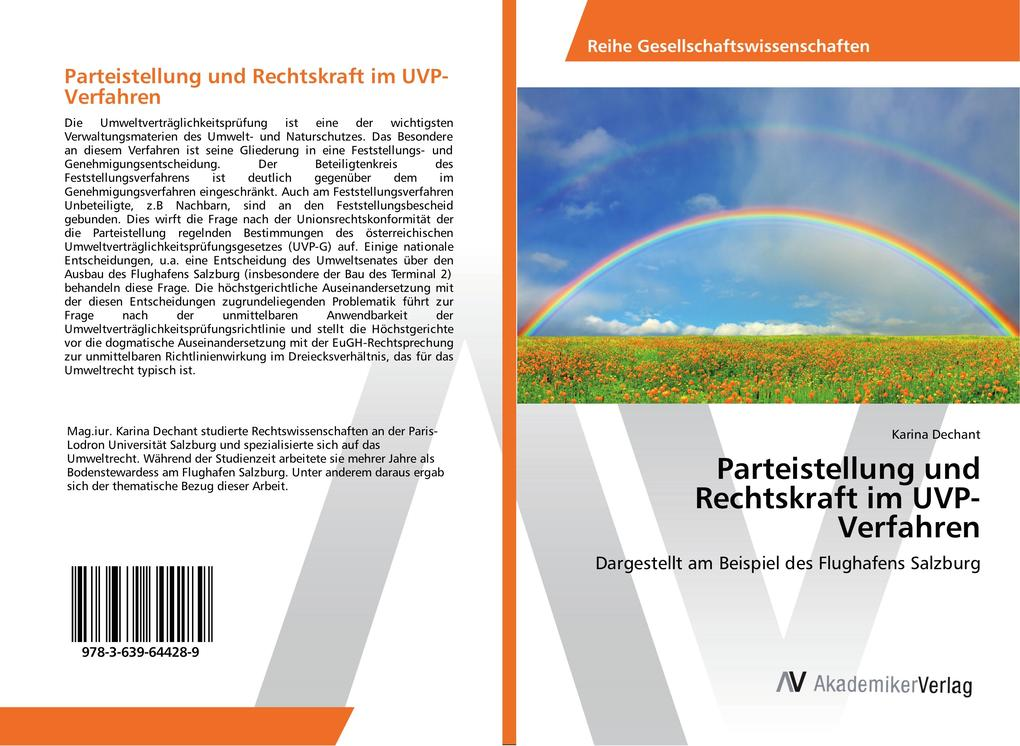Parteistellung und Rechtskraft im UVP-Verfahren...