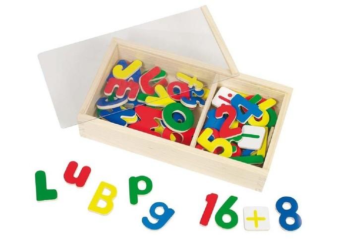 Goki 58955 - Magnet-Alphabet und Zahlen