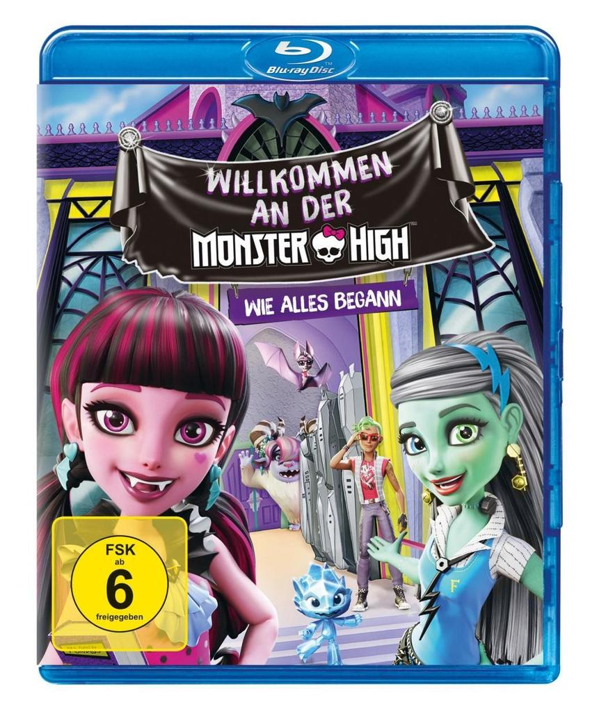 Monster High - Willkommen an der Monster High -...