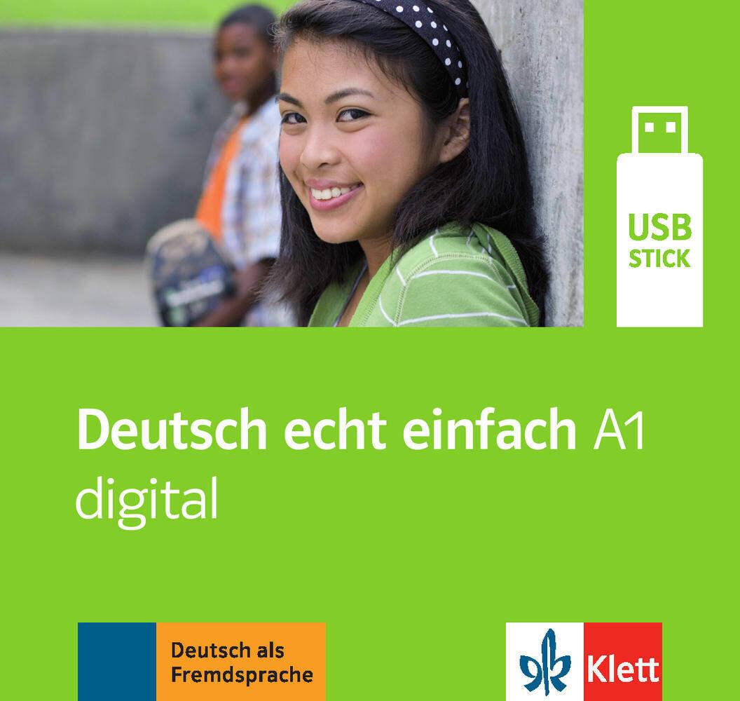 Deutsch echt einfach A1 digital. (Ganz- und Tei...