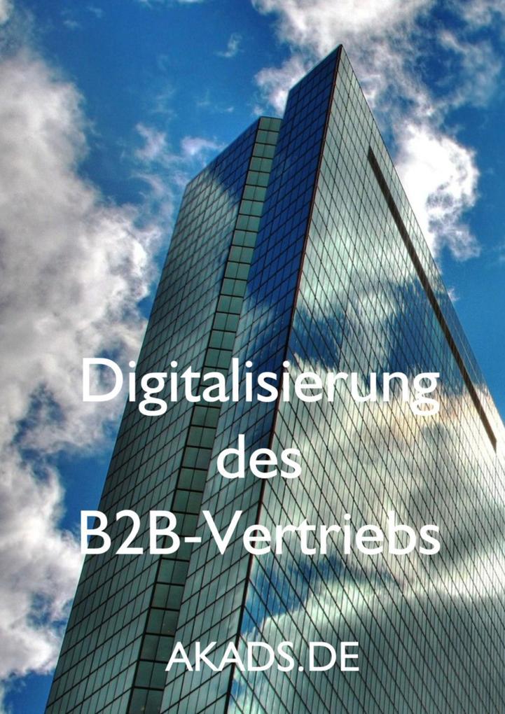 Digitalisierung des B2B-Vertriebs als eBook Dow...
