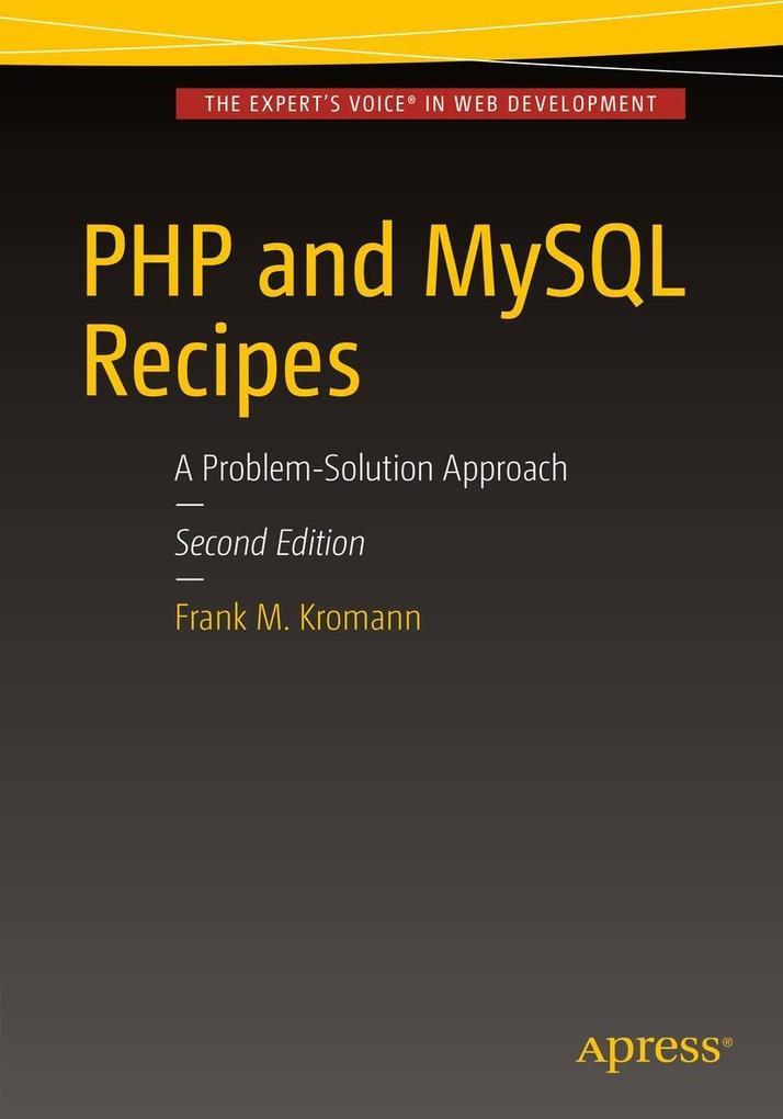 PHP and MySQL Recipes als eBook Download von Fr...