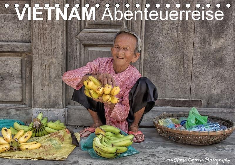 Vietnam Abenteuerreise (Tischkalender 2017 DIN ...