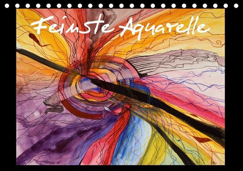 Feinste Aquarelle (Tischkalender 2017 DIN A5 quer)