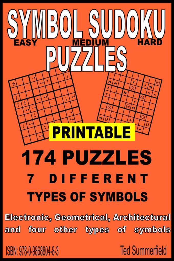 Symbol Sudoku Puzzles als eBook Download von Te...