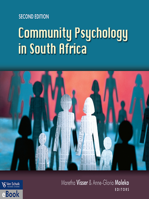 Community Psychology In South Africa als eBook ...