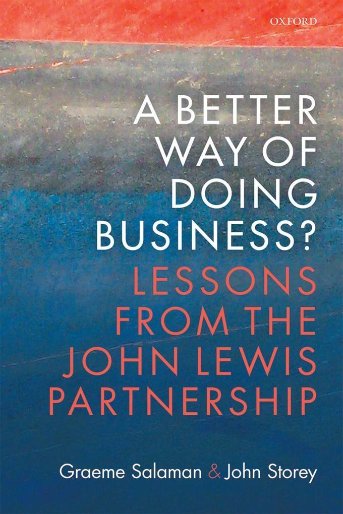 A Better Way of Doing Business? als eBook Downl...