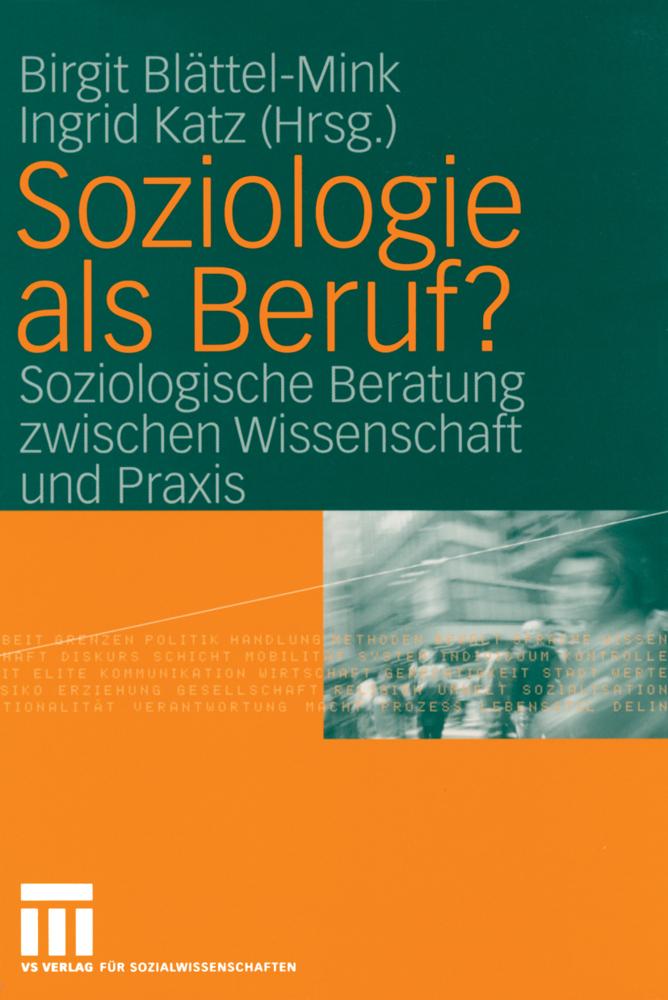 Soziologie als Beruf?