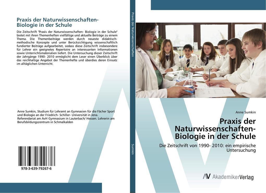 Praxis der Naturwissenschaften- Biologie in der...