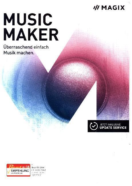 MAGIX Music Maker 2017. Für Windows 7/8/10