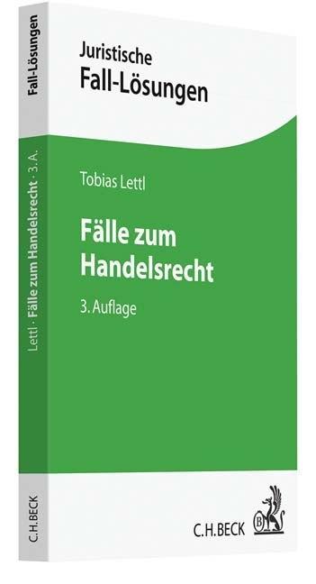 Fälle zum Handelsrecht als Buch von Tobias Lettl