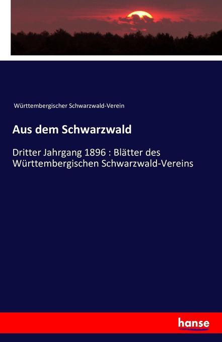 Aus dem Schwarzwald als Buch von