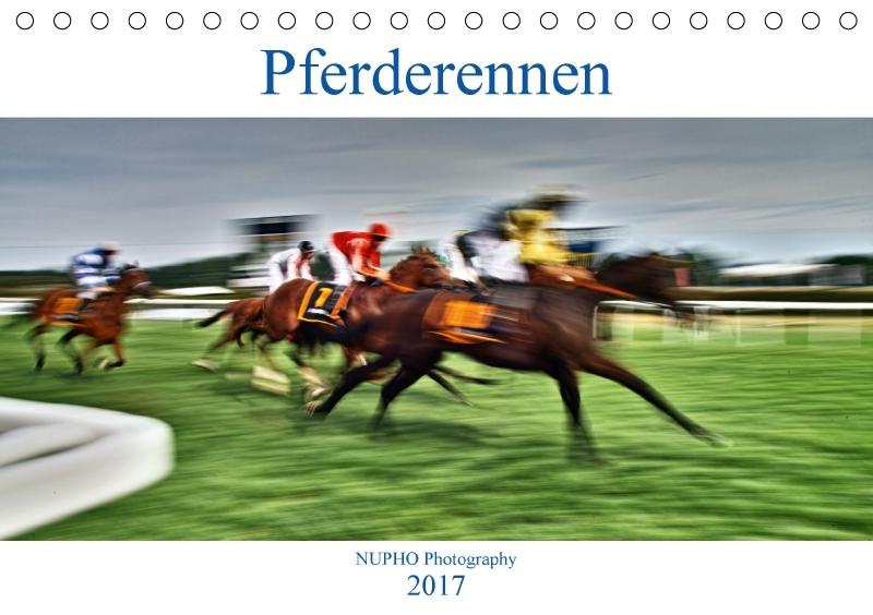 Pferderennen (Tischkalender 2017 DIN A5 quer)