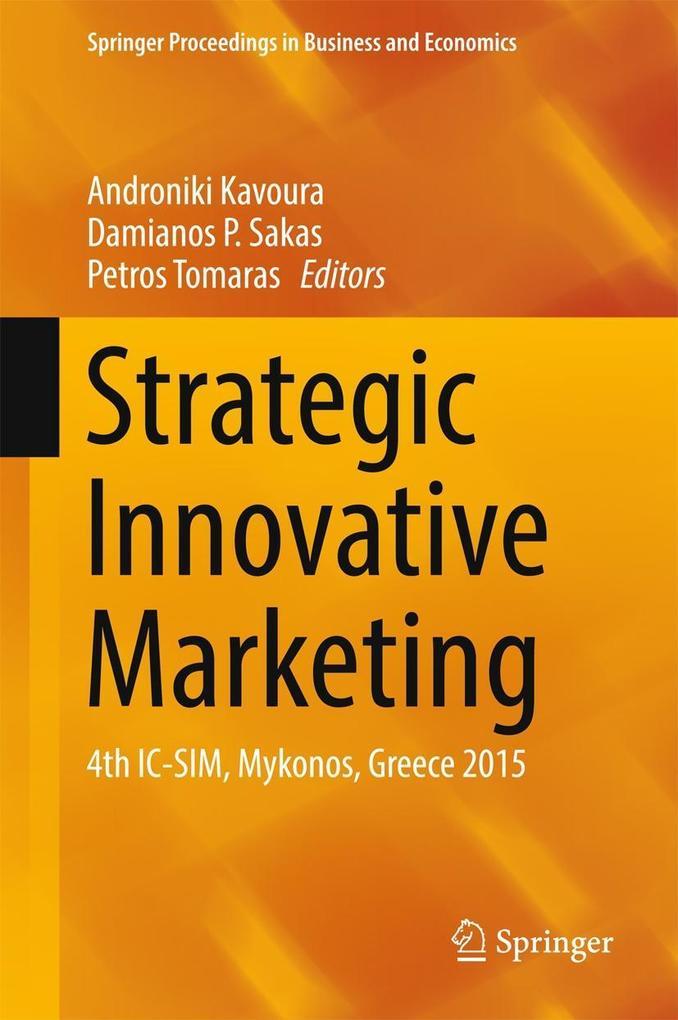 Strategic Innovative Marketing als eBook Downlo...