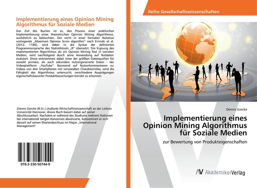Implementierung eines Opinion Mining Algorithmu...