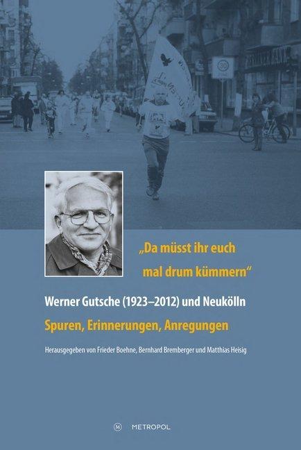 Da müsst ihr euch mal drum kümmern - Werner Gut...