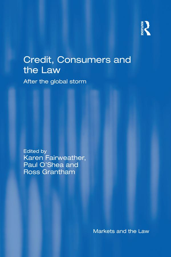 Credit, Consumers and the Law als eBook Downloa...