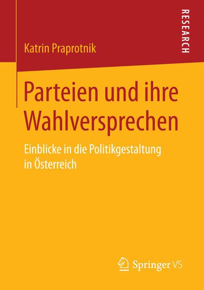 Parteien und ihre Wahlversprechen als Buch von ...