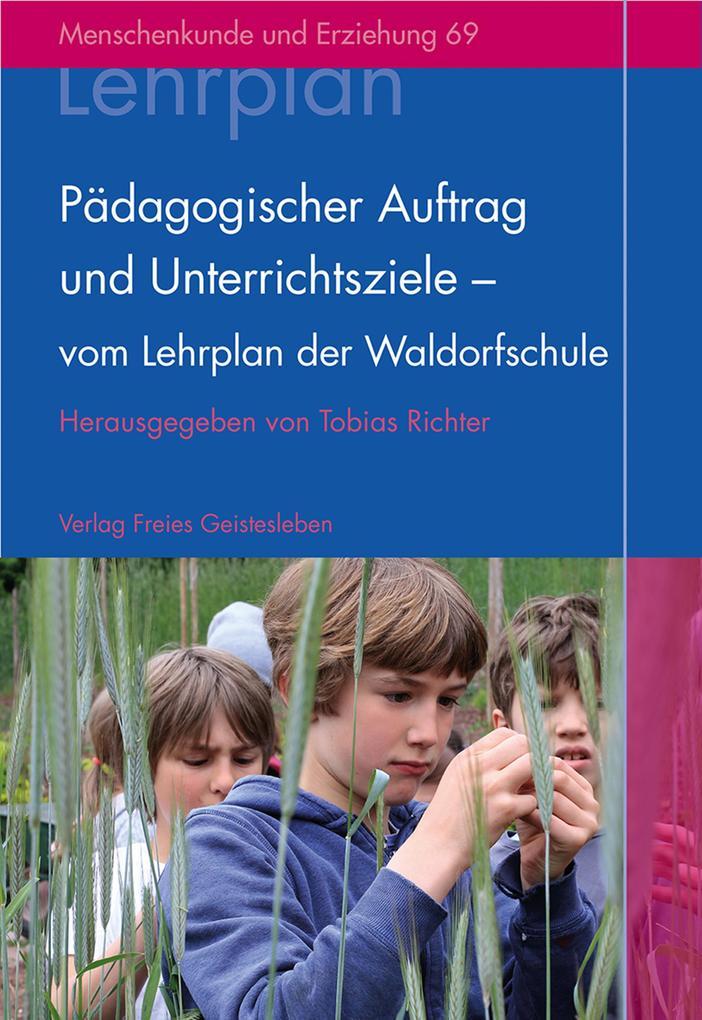Pädagogischer Auftrag und Unterrichtsziele - vo...