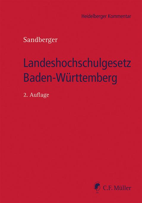 Landeshochschulgesetz Baden-Württemberg als eBo...