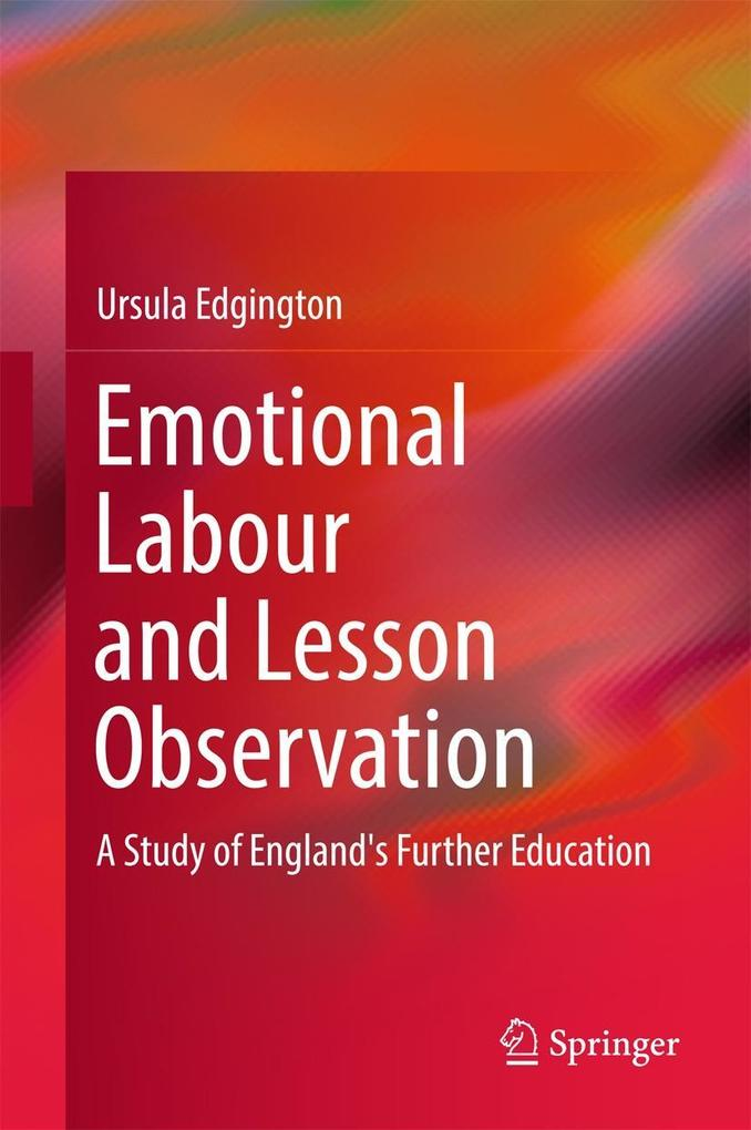 Emotional Labour and Lesson Observation als eBo...