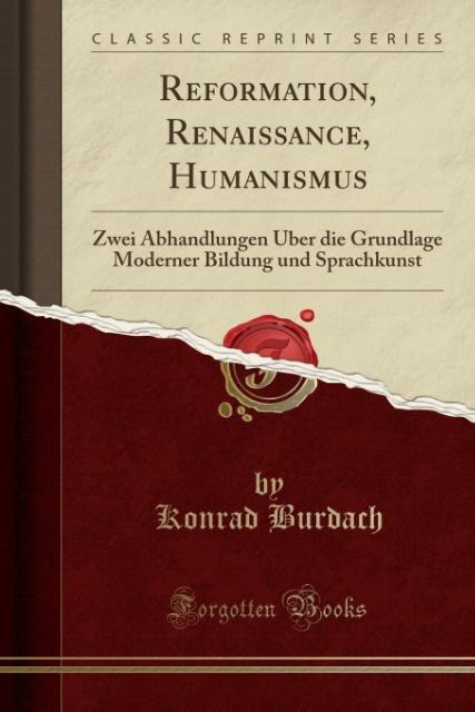 Reformation, Renaissance, Humanismus als Tasche...